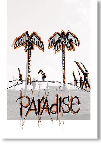 POSTER paradise A2